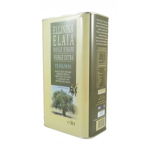 Huile d'olive extra vierge Elaia 3 L