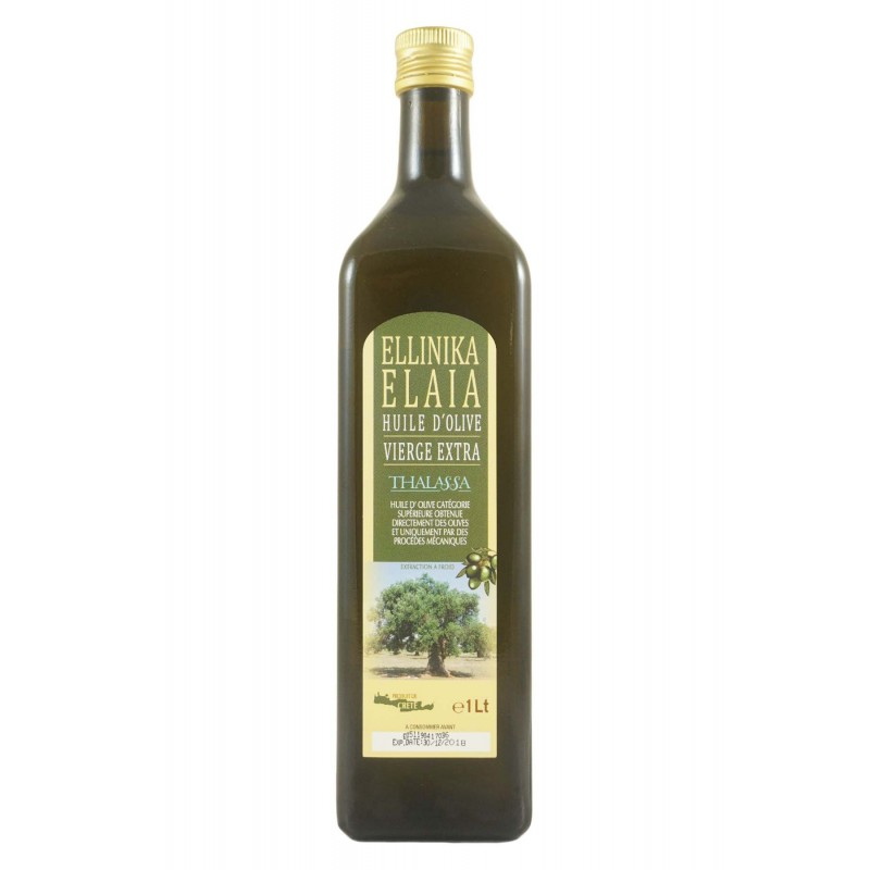 Huile d'olive extra vierge Elaia 1 L